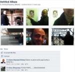 Perfil de Facebook Golden Dawn .les hace mucha gracia los hornos crematorios..