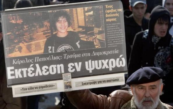 protesta por su asesinato
