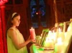 Celebración de la Navidad de la Luz. Foto Conor McCabe