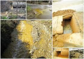 Estas son las aguas alrededor de las minas de Oro de Calcidia