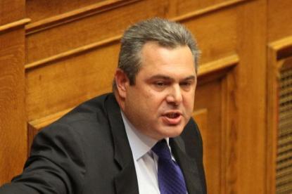 Panos Kamenos, lider del partido conservador Griegos Independientes