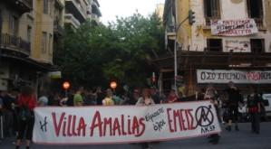 Villa Amalias una casa abandonada convertida en centro social durante 20 años, sin ningún tipo de conflictividad social