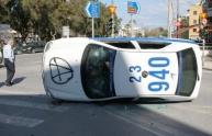 En Heraklión Creta hubo enfrentamientos enre oilicía y manifestantes