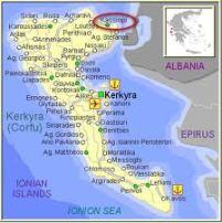 Localización de Kassiopi