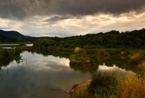 Corfú lagunas. Foto Szczecinski