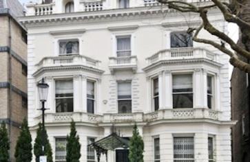 Embajada griega en Londres  a la venta