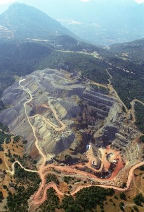 Avance de la minería