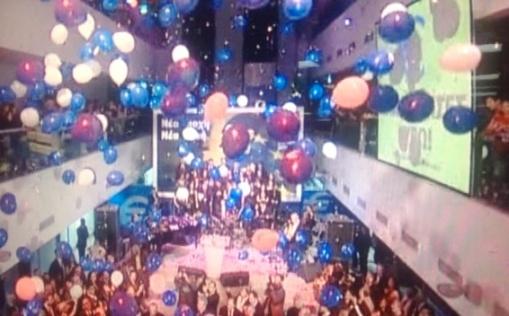 Fiesta de Chipre por la entrada en el euro el 1 de Enero 2008