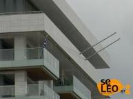 Consulado alemán en Tesalónica retiró su bandera para evitar incidentes