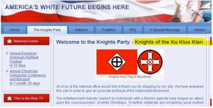 El Kukluxklan dió la bienvenida a los neonazis griegos en EEUU.  Las redes ahora unen a todos los ignorantes del mundo