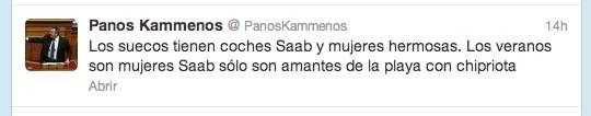 Foto twit con traductor, para hacerlo legible.